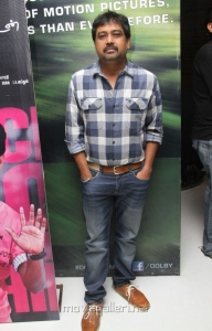 Lingusamy at Theriyama Unnai Kadhalichitten Audio Launch Stills