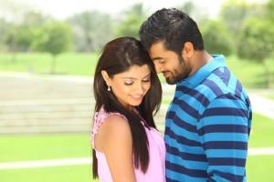 Akanksha Puri, Unni Mukundan in Thigar Tamil Movie Photos