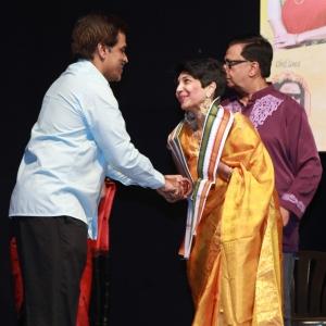 Madhuvanthi Arun @ Thillalangadi Mohanambal 100th Show Event Stills