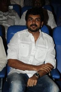 Actor Karthi at Thillu Mullu 2 Movie Launch Stills