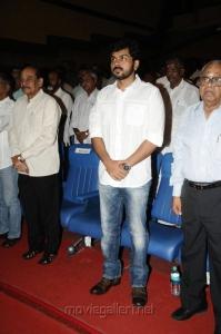 Karthik Sivakumar at Thillu Mullu 2 Movie Launch Stills
