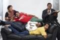 Kovai Sarala, Shiva, Manobala, Sathyan, Ilavarasu in Thillu Mullu 2 Movie Photos