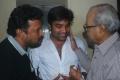 Badri, Shiva, K.Balachander at Thillu Mullu Movie Special Show Stills