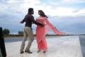 Simbu, Richa Gangopadhyay in Thimmiri Telugu Movie Stills