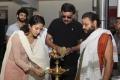 Amala Paul, Priyadarshan @ Think Big Studios Production No.3 Poojai Stills