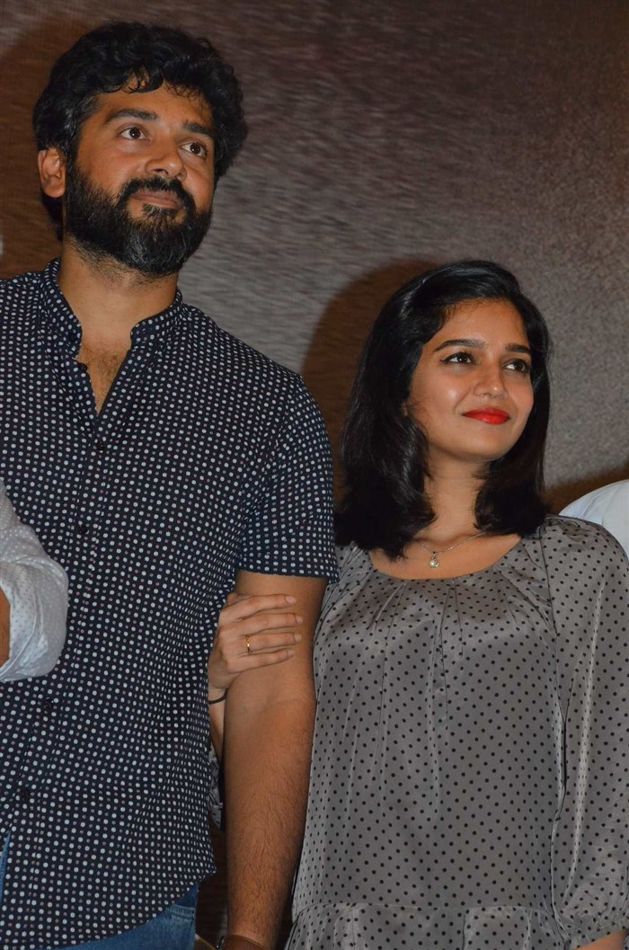 Ashwin Kakumanu, Swathi Reddy @ Thiri Movie Audio Launch Stills