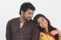 Actor Jai & Actress Nazriya Nazim in Thirumanam Ennum Nikkah Movie Stills