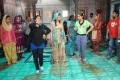 Choreographer Shabina Khan at Thirumanam Ennum Nikkah Working Stills