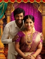 Umapathy Ramaiah, Kavya Suresh in Thirumanam Movie Stills HD