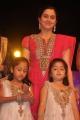 Devayani with 2 daughters at Thirumathi Thamizh Audio Launch Photos