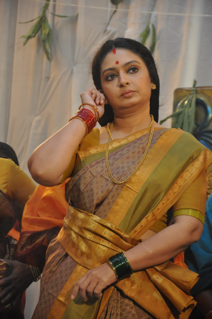 Picture 378171  Actress Seetha At Thiruppugal Movie Shooting Spot Stills  New Movie -2751