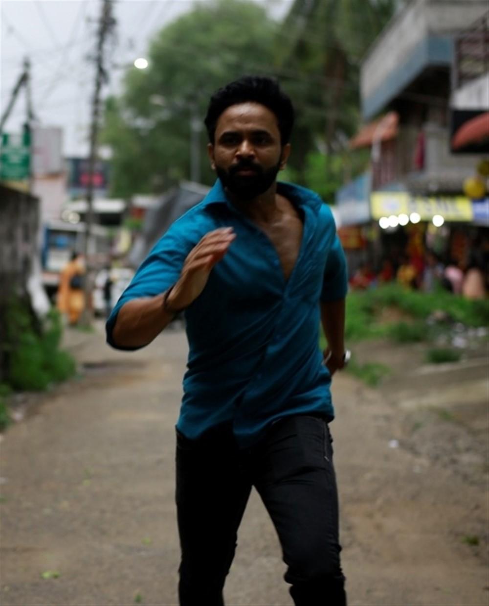 Actor Thanikai in Thoduppi Movie Stills