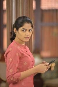 Actress Harshitha Chowdary in Tholu Bommalata Movie Stills