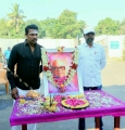 Samuthirakani, R Manikandan @ Thondan Movie Team Paid Tribute To K Balachander Photos