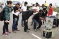 Actor Kishore @ Thoongavanam Movie Working Stills