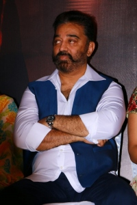 Kamal @ Thoongavanam Movie Trailer Launch Stills