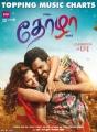 Tamanna, Karthi in Thozha Movie Release Posters