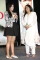 Actress Radha with Daughter Thulasi Nair at Kadali Audio Launch