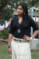 Thulasi Nair Hot Stills in Black Top & White Skirt