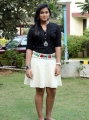 Actress Thulasi Nair Hot Stills at Kadal Press Show