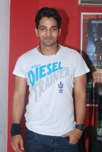 Harsh Vardhan Rane at Thulli Ezhunthathu Kadhal Movie Team Interview Stills
