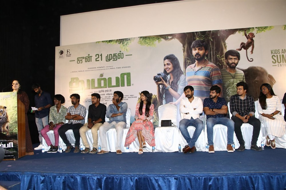 Thumbaa Movie Press Meet Stills