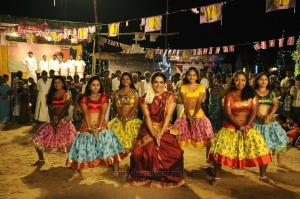 Actress Sandhya in Thunai Mudhalvar Tamil Movie Stills