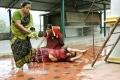 Swetha Menon in Thunai Mudhalvar Tamil Movie Stills
