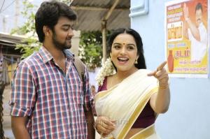 Actress Swetha Menon in Thunai Mudhalvar Tamil Movie Stills