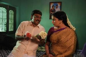 K.Bhagyaraj, Swetha Menon in Thunai Mudhalvar Tamil Movie Stills