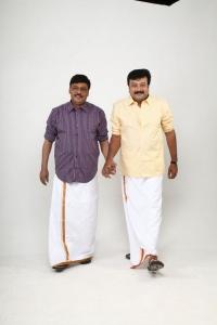 K.Bhagyaraj & Jayaram in Thunai Muthalvar Movie Photos