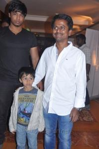 AR Murugadoss Son at Thuppaki Movie Audio Launch Stills