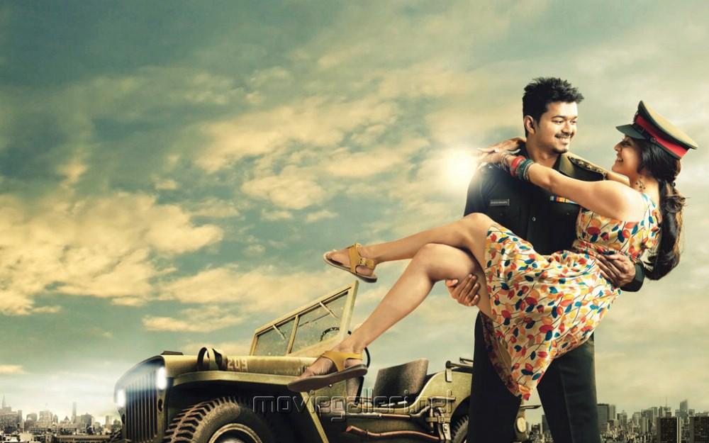 Picture 321357 | Vijay, Kajal Agarwal in Thuppaki Movie ...