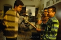 Vijay, AR Murugadoss at Thuppaki Shooting Spot Stills