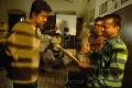 Vijay, AR Murugadoss at Thuppaki Shooting Spot Stills