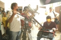 Santosh Sivan, AR Murugadoss at Thuppaki Shooting Spot Stills