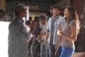 AR Murugadoss, Vijay, Kajal Agarwal at Thuppaki Shooting Spot Stills