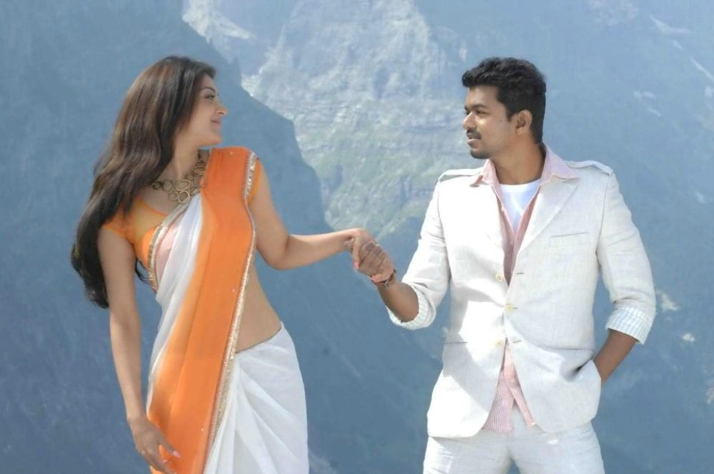 Picture 346656 | Kajal Agarwal, Vijay in Thuppaki Telugu ...