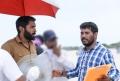 Vikram Prabhu, Dinesh Selvaraj @ Thuppakki Munai Movie Working Stills HD