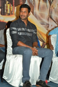 Actor Vishal @ Thupparivaalan Teaser Launch Photos