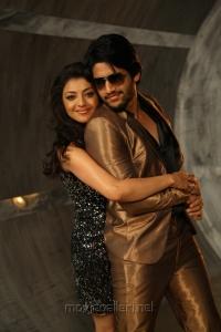 Naga Chaitanya, Kajal Agarwal in Tiger Vishva Movie Stills