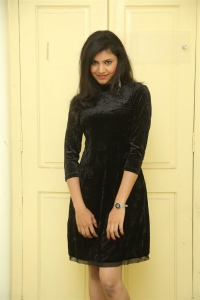 Actress Mounika Stills @ Tik Talk Movie Website Launch