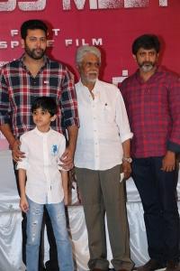 Jayam Ravi, Aarav Ravi @ Tik Tik Tik Movie Thanks Meet Photos