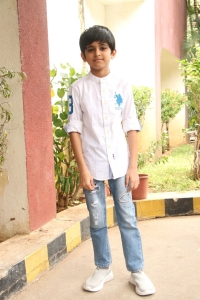 Aarav Ravi @ Tik Tik Tik Movie Thanks Meet Photos