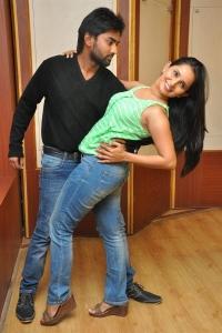 Siva, Ishika Singh @ Toll Free No 143 Movie Press Meet Stills