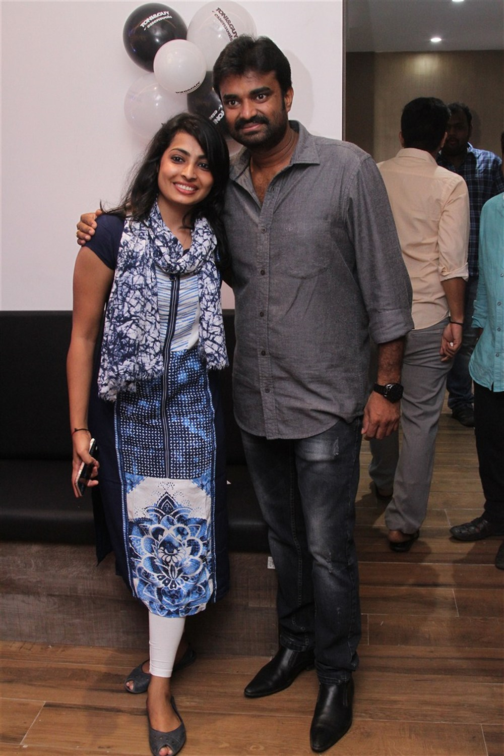 AL Vijay @ Toni & Guy Essensuals Salon Launch at CIT Nagar Chennai Photos