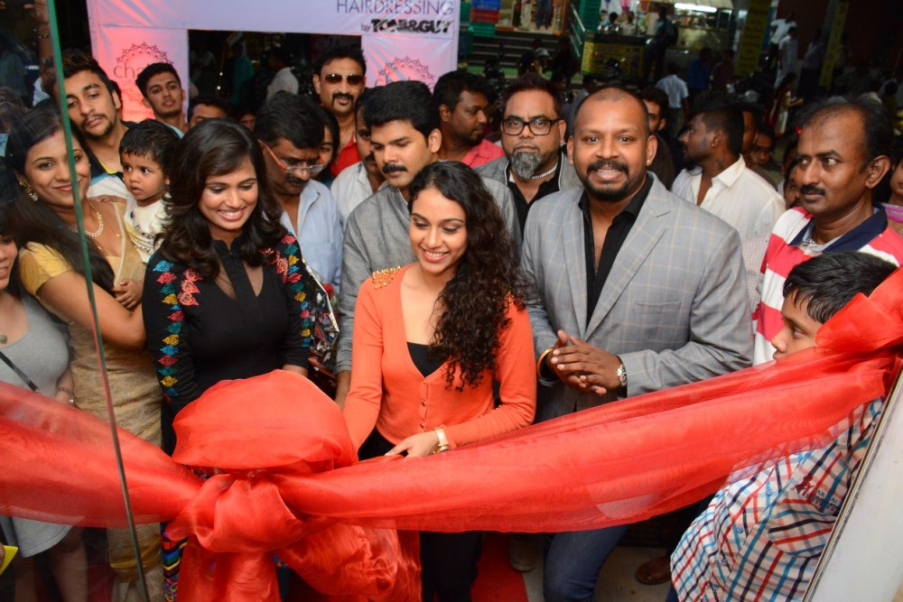 Rupa manjari at tony and guy salon launch veethi for Salon tony and guy