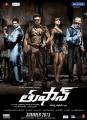Ram Charan & Priyanka Chopra in Thoofan Telugu Movie Posters