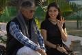 S A Chandrasekar, Priyadarshini in Touring Talkies Tamil Movie Stills