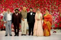 T Rajendar, RB Choudary @ TR Kuralarasan Nabeelah R Ahmed Wedding Reception Stills
